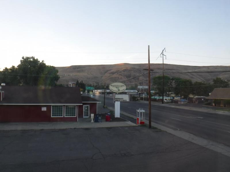Yakima motel view