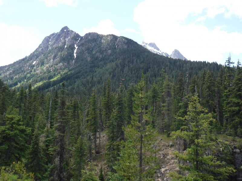 View on the hike to Swamp Creek