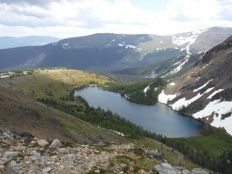 Glacier Lake - Cathedral Park