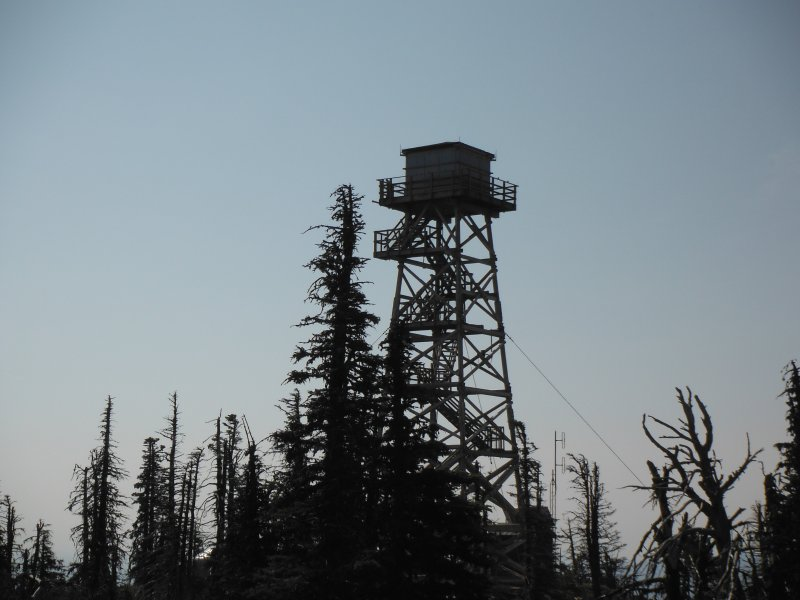 Firetower on Black Butte