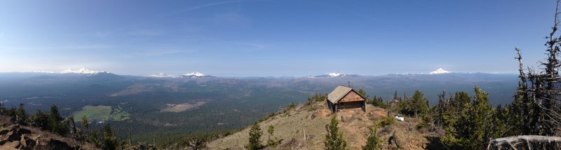 Panorama from Black Butte