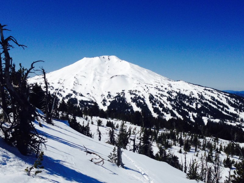 Mt Bachelor from Tumalo Mountain