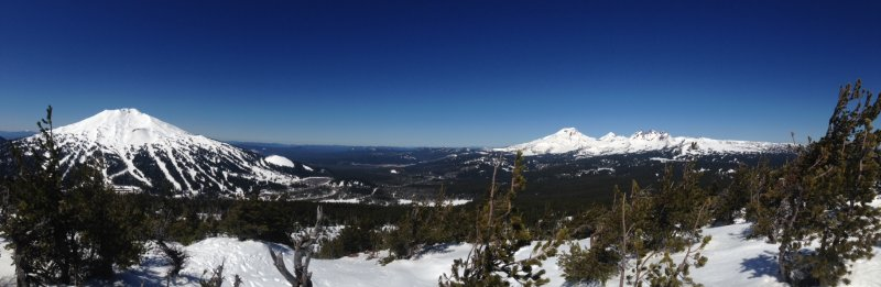 Panorama from Tumalo Mountain