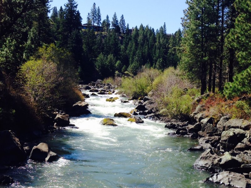 Deschutes River in Bend