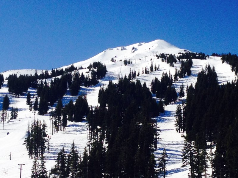Mt Bachelor ski area