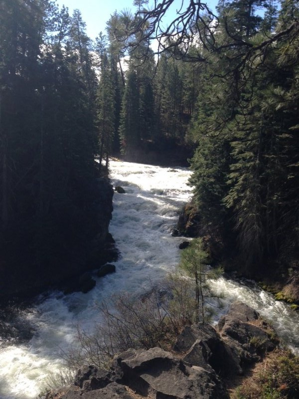 Benham Falls on the Deschutes River