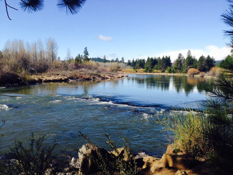 Peaceful Deschutes River