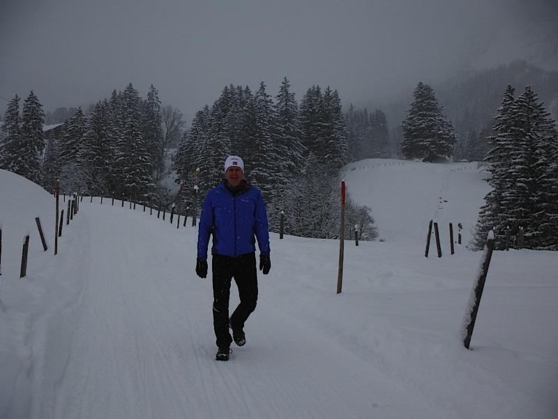 Snow walk Grindelwald