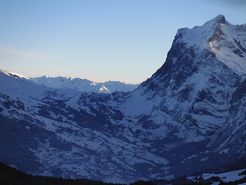 View over Grindelwald