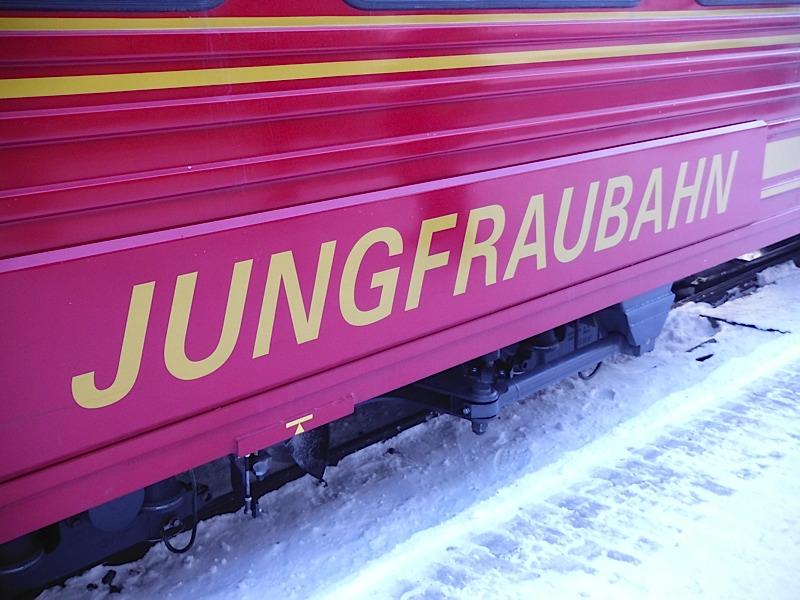 The train through the mountain