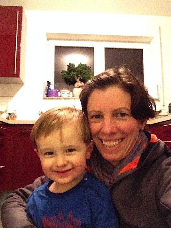 With nephew