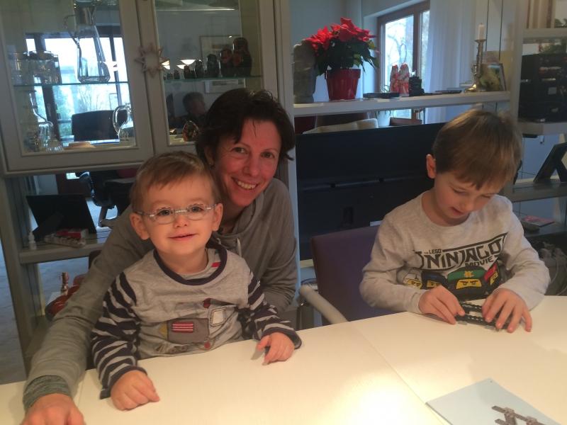Nephews visiting