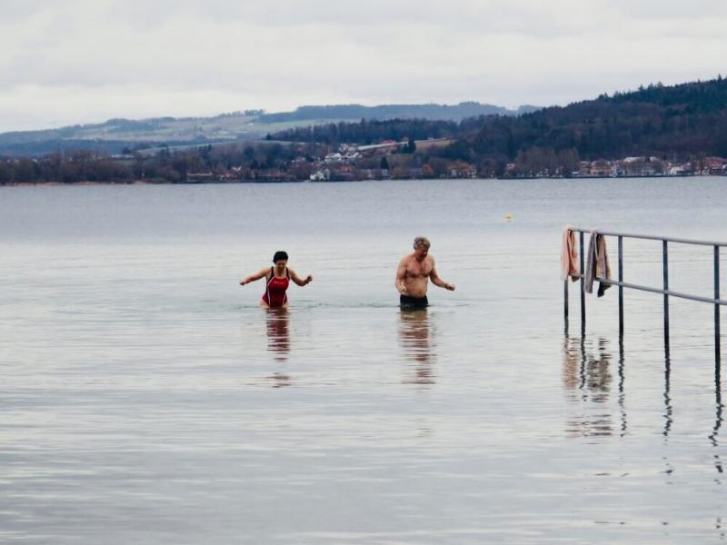 First swim 2018