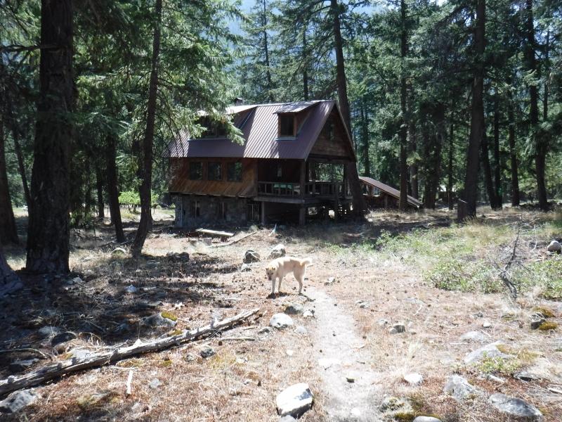 Mark's house in Stehekin