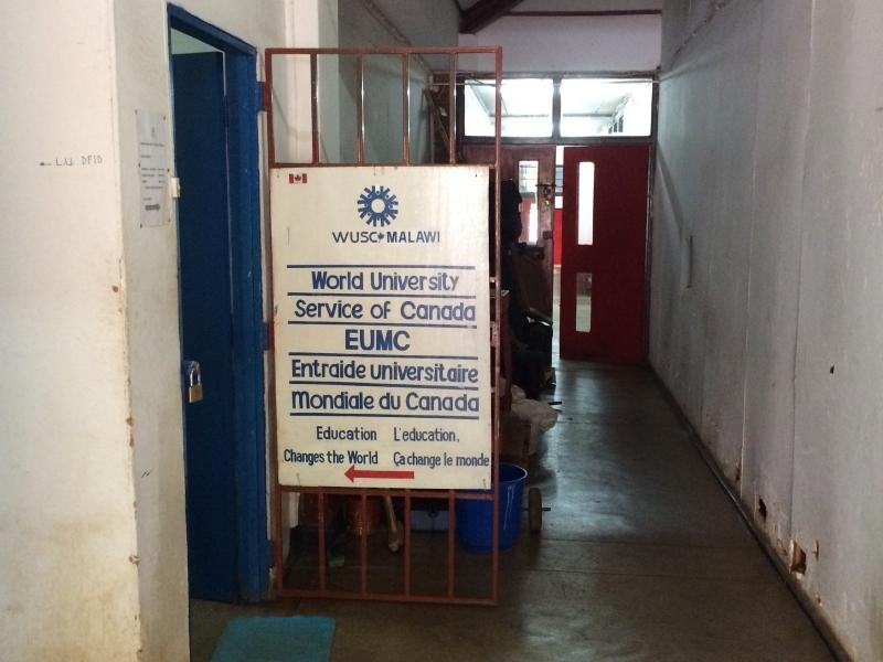 WUSC entrance
