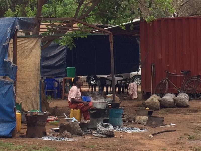 Street scene in Lilongwe city centre