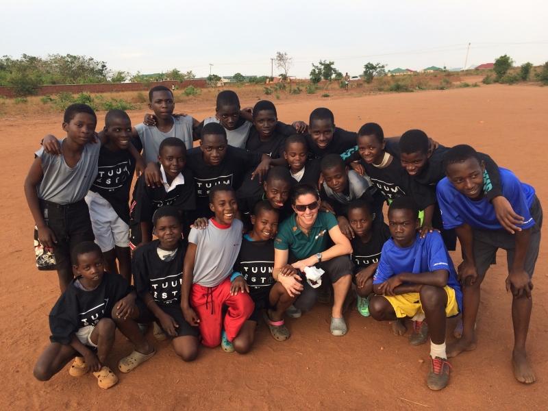 Soccer team in Lilongwe