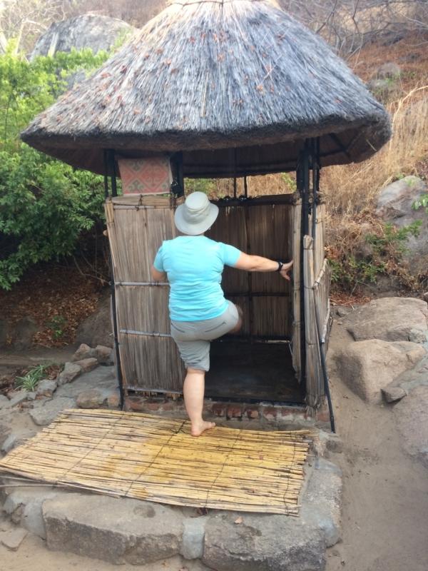Showers at Kumbali Lake Lodge