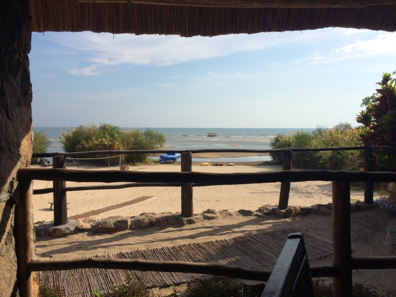 View at Kumbali Lake Lodge