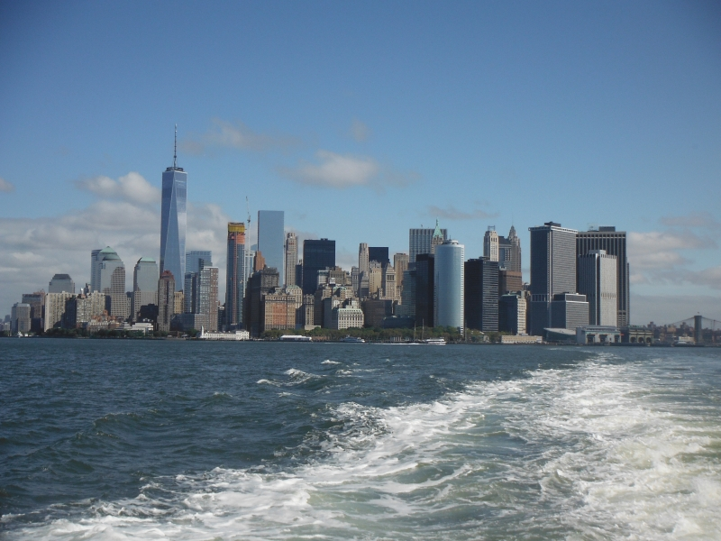 From the Staten Island Ferry NYC