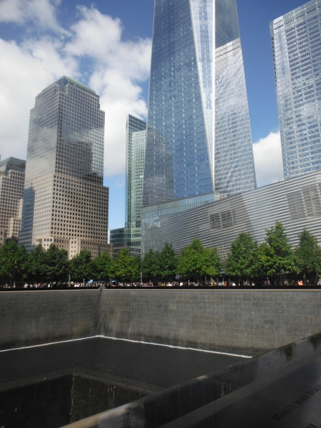 Ground Zero Memorial NYC