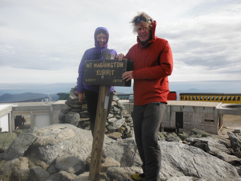 Top of Mt Washington NH