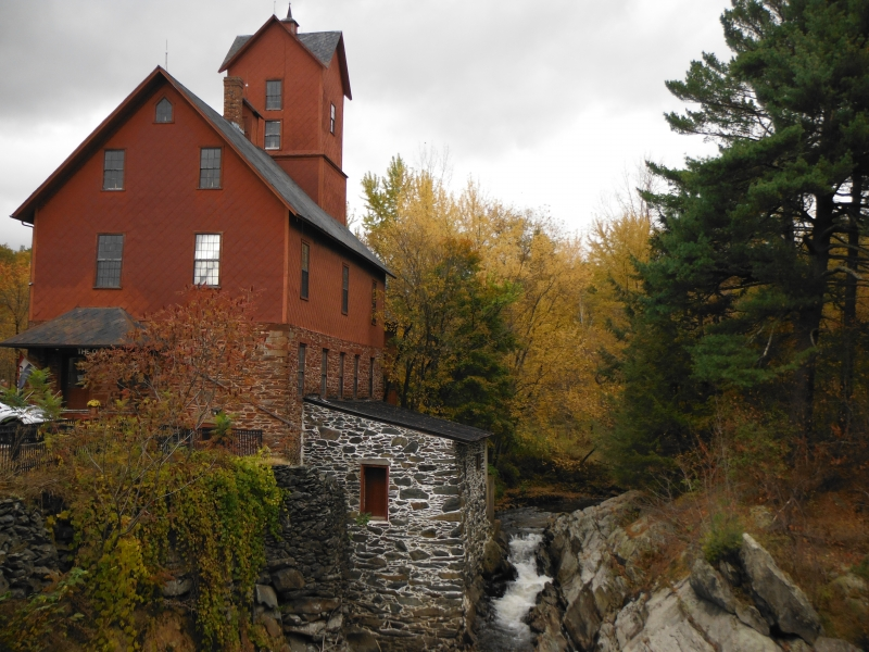 Old Red Mill, Jericho VT