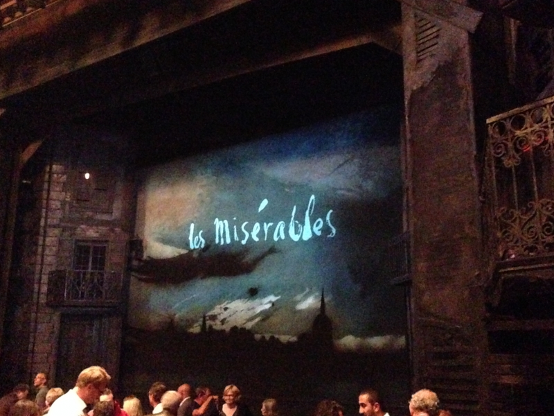 Les Mis on Broadway