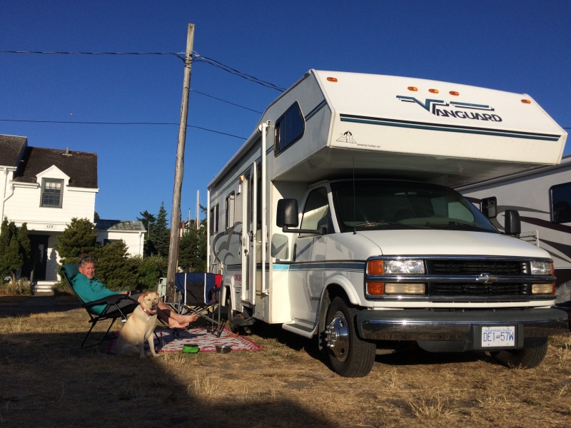 Urban camping in Port Townsend