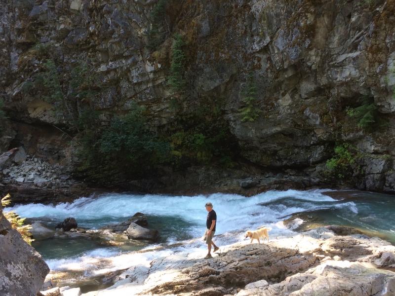 Agnes Gorge Hike near Stehekin WA
