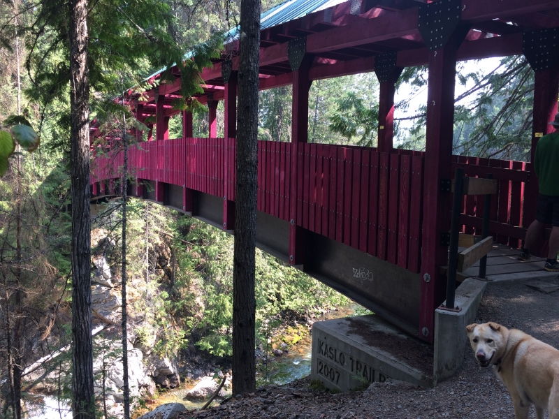Kaslo River Bridge