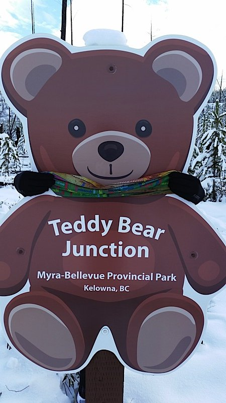 Teddy bear at Teddy Bear Junction