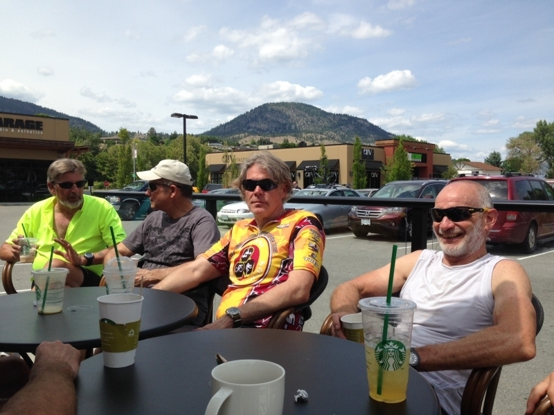 After the Green Mountain Beez ride