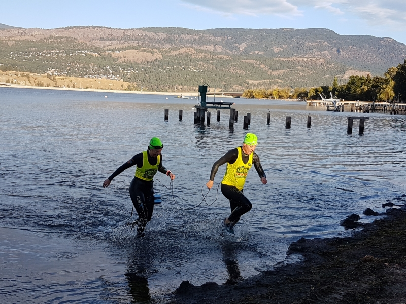 First SwimRun competition!