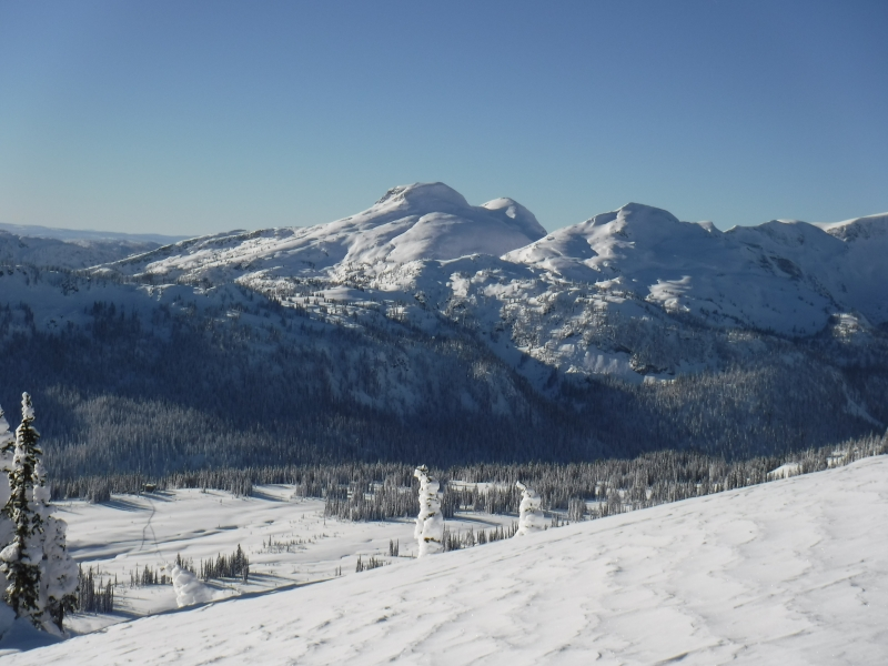 Sol Mountain Lodge below