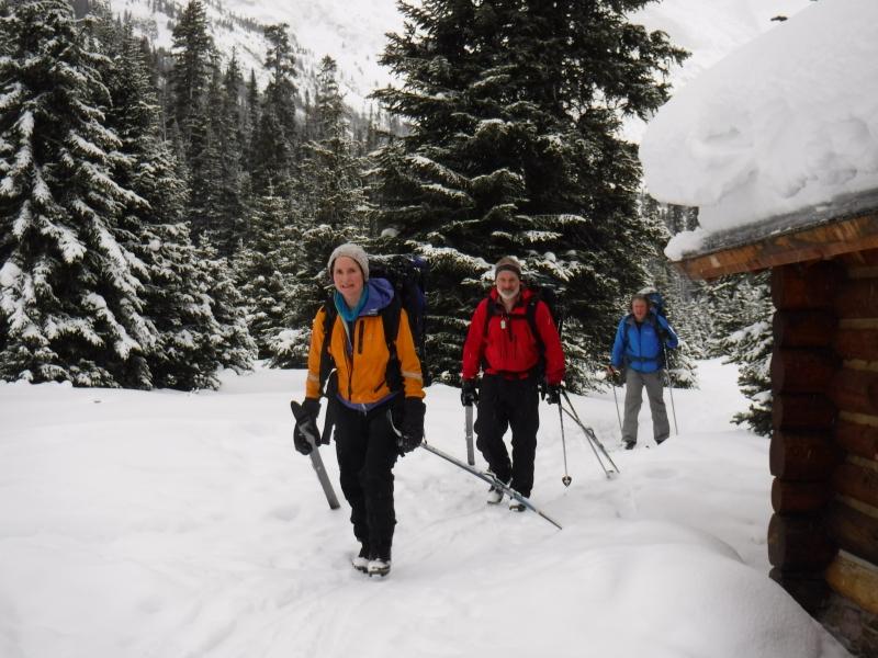 Lake O'Hara skiing