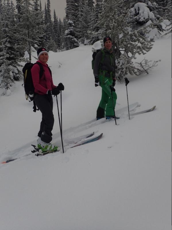 Big White backcountry ski