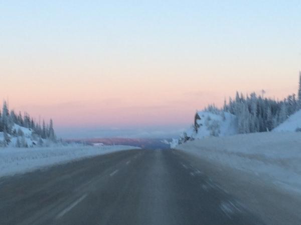 Highway Winter Driving