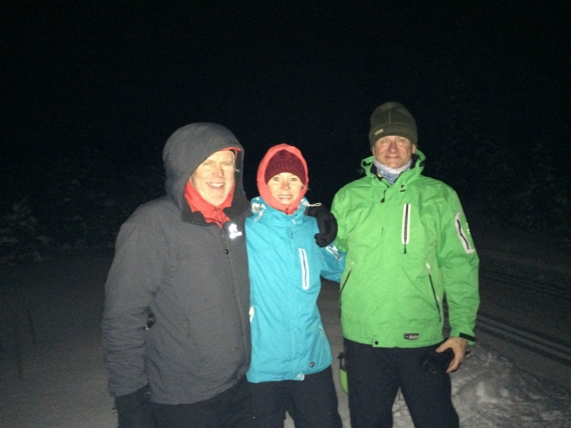 Moonlight Snowshoe at Nordic