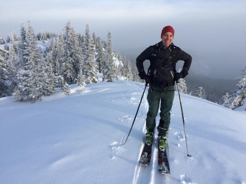 Backcountry ski at Big White