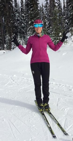 First Skate Ski