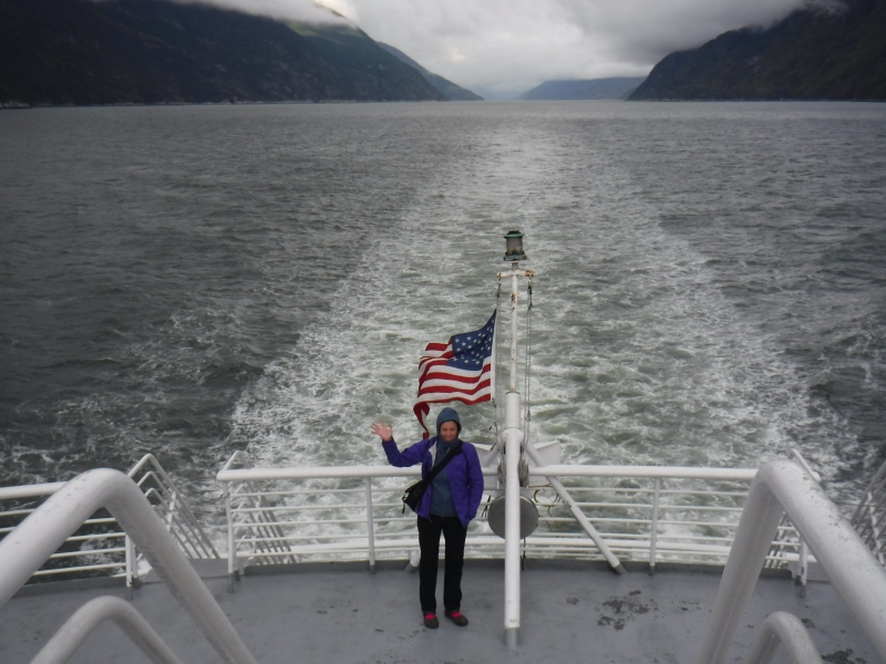Ferry Skagway to Haines Sept 8