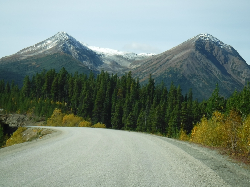 Driving the Stewart Cassiar Highway Sept 11