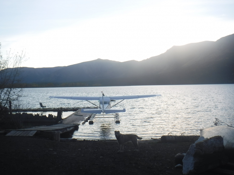 Ready to fly - Tatogga Lake - Sept 11