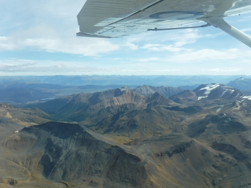 Mt Edziza Area Flight Sept 12