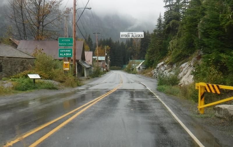 Hyder Alaska Sept 13