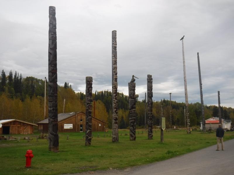 Gitanyow Totem Poles Sept 13