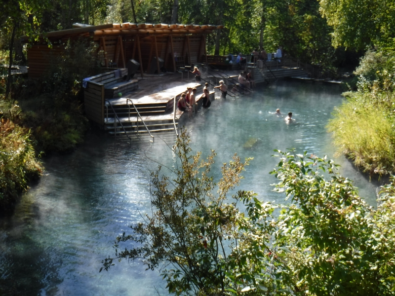 Liard Hot Springs Sept 4