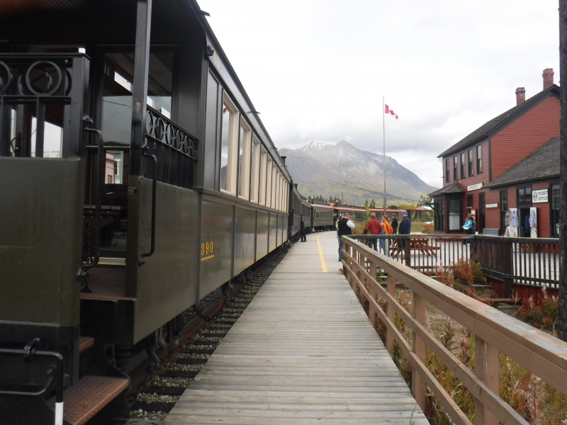 White Pass Train ride Carcross YT to Skagway AK Sept 7