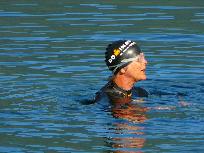 Mona in Slocan Lake